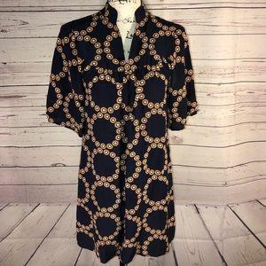 Banana Republic Silk Tunic Dress Size S